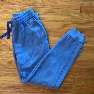 Blue Hollister sweats